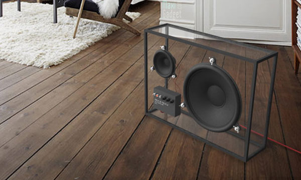 enceinte transparente design et ecolo fais pas ta steph. Black Bedroom Furniture Sets. Home Design Ideas