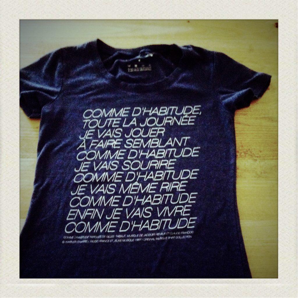 un tee shirt de original music short
