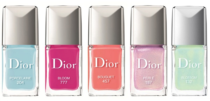 Collection vernis trianon Dior spring 2014