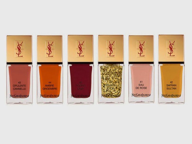 collection vernis YSL SPICY